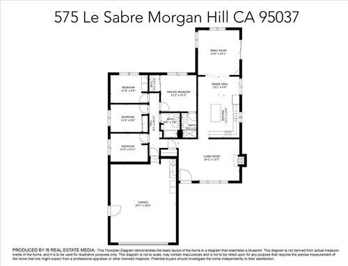 Tiny photo for 575 Le Sabre CT, MORGAN HILL, CA 95037 (MLS # ML81837662)