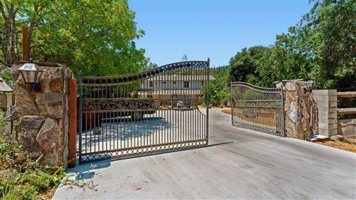 Photo of 180 Buck Knoll Road, BOULDER CREEK, CA 95006 (MLS # ML81843682)