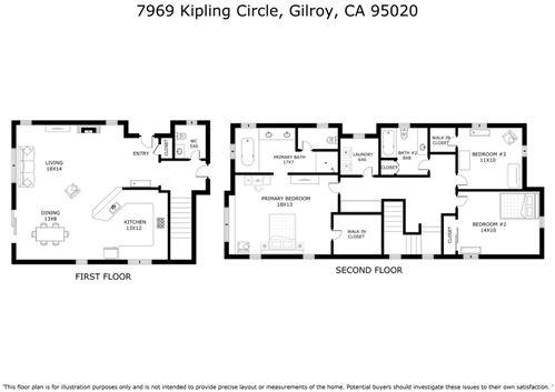 Tiny photo for 7969 Kipling CIR, GILROY, CA 95020 (MLS # ML81836688)