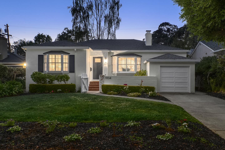 Photo for 1104 Cambridge Road, BURLINGAME, CA 94010 (MLS # ML81847694)