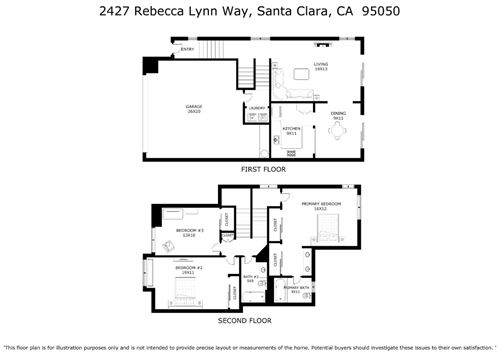 Tiny photo for 2427 Rebecca Lynn Way, SANTA CLARA, CA 95050 (MLS # ML81854698)
