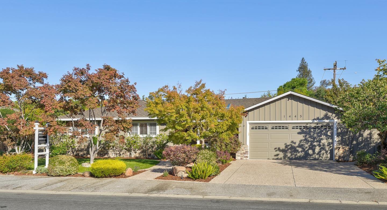 1445 Meadow Lane, Mountain View, CA 94040 - MLS#: ML81866772