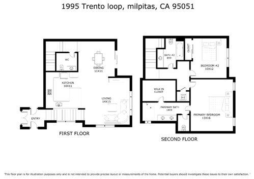 Tiny photo for 1995 Trento LOOP, MILPITAS, CA 95035 (MLS # ML81812816)