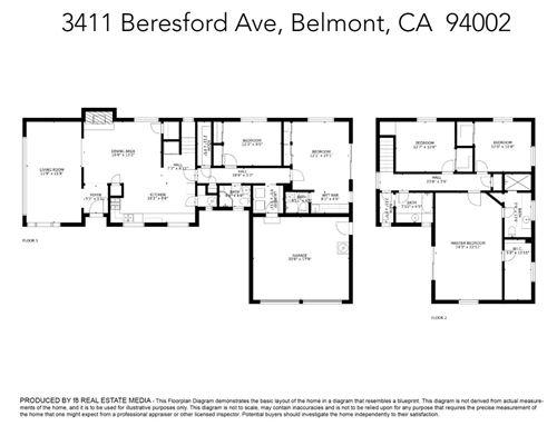 Tiny photo for 3411 Beresford Avenue, BELMONT, CA 94002 (MLS # ML81847874)