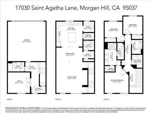 Tiny photo for 17030 Saint Agatha LN, MORGAN HILL, CA 95037 (MLS # ML81829882)
