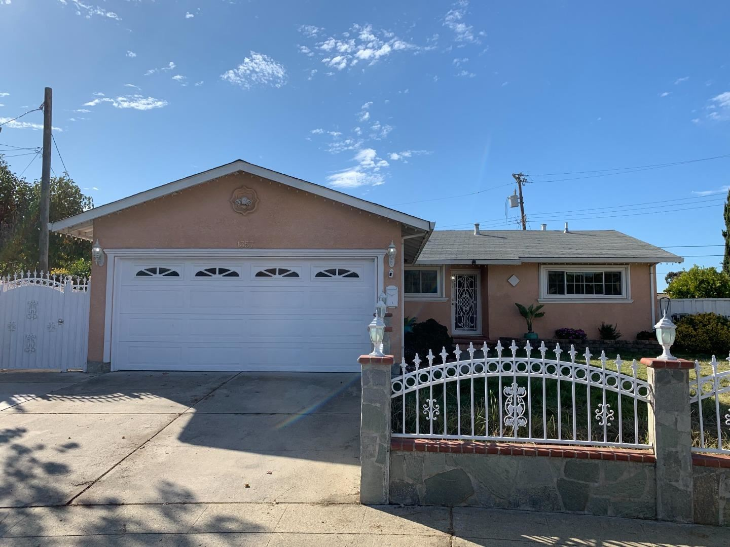 Photo for 1357 Zion CT, MILPITAS, CA 95035 (MLS # ML81820889)