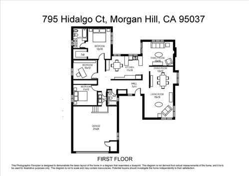 Tiny photo for 795 Hidalgo CT, MORGAN HILL, CA 95037 (MLS # ML81808918)