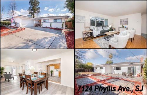 Photo of 7124 Phyllis AVE, SAN JOSE, CA 95129 (MLS # ML81826942)