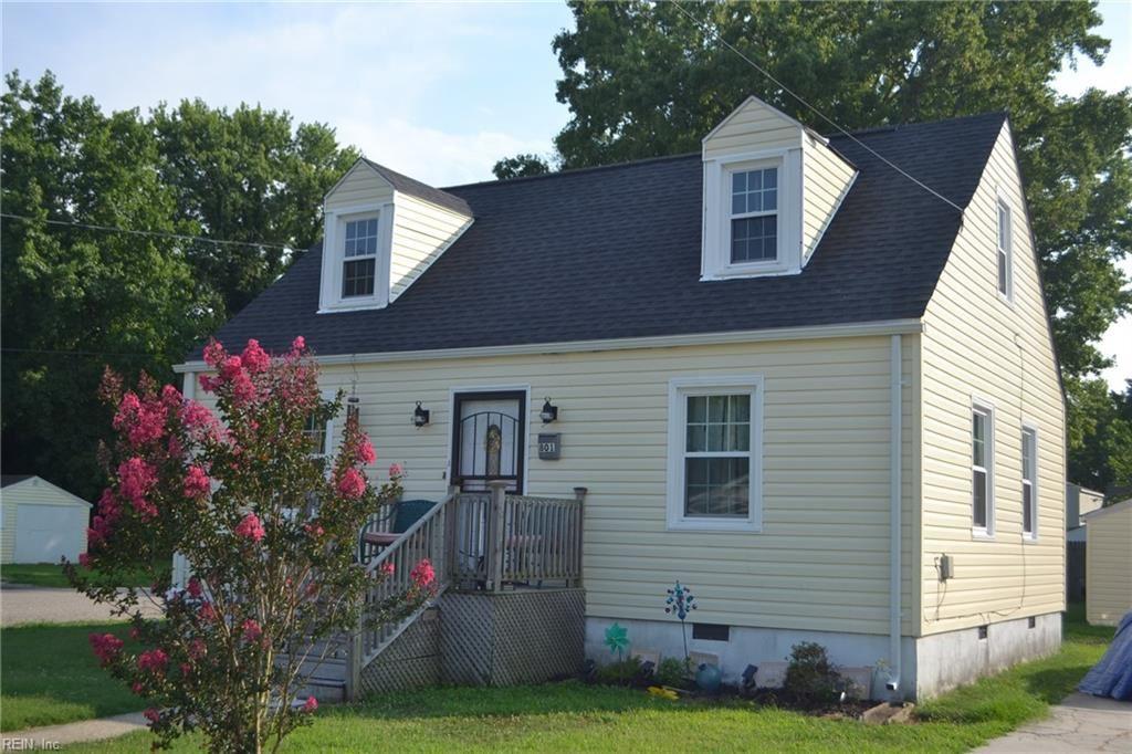 801 Downing Street, Hampton, VA 23661 - MLS#: 10391274