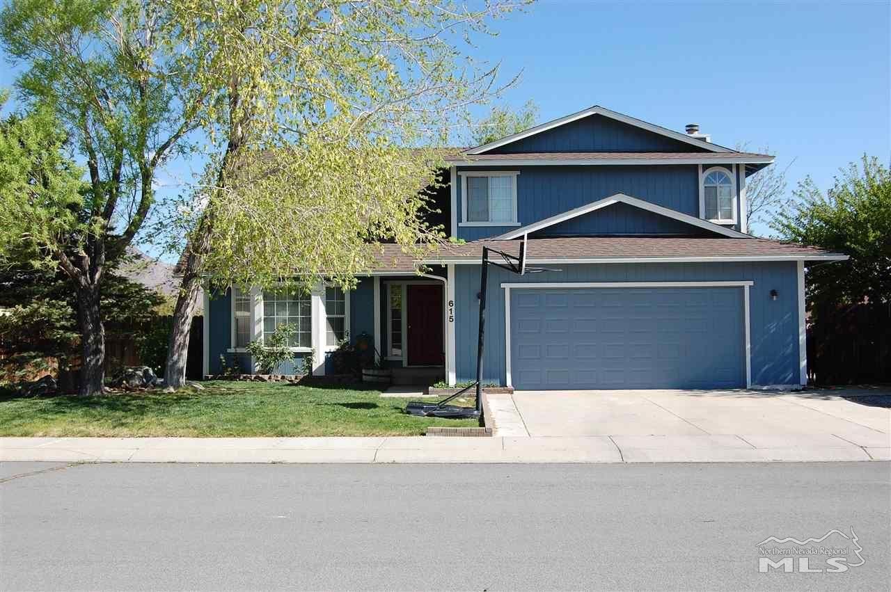 615 Boulder Cir, Dayton, NV 89403 - #: 210006029