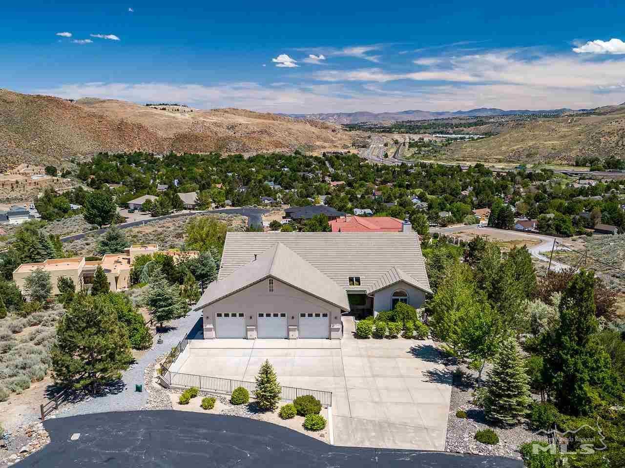 120 Mule Deer Drive, Reno, NV 89523 - #: 200007194