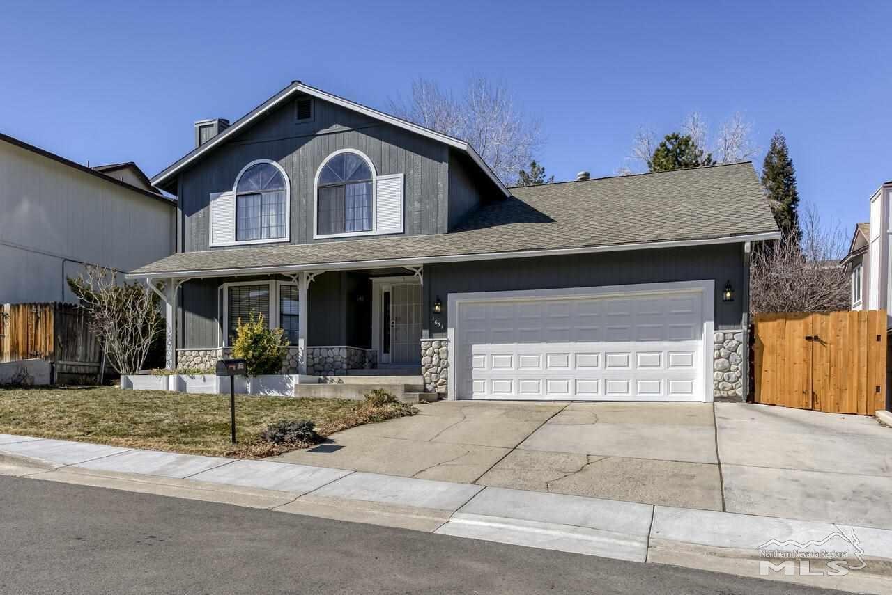 1651 Ashbury Lane, Reno, NV 89523 - MLS#: 210001815