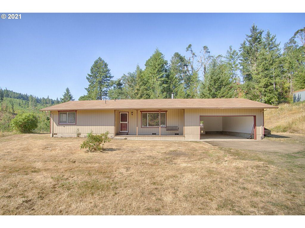 Photo of 39725 SW FORT HILL RD, Willamina, OR 97396 (MLS # 21507032)
