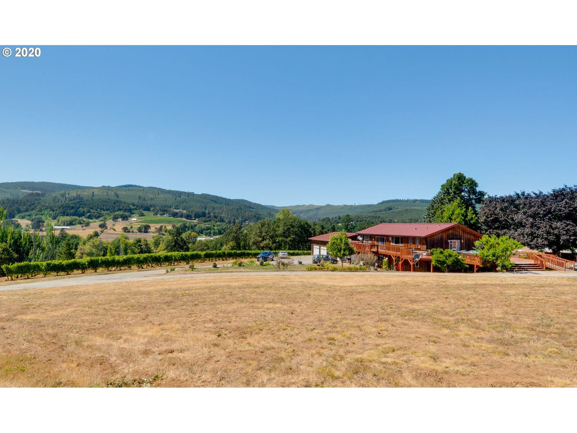 Photo of 24810 NW TURNER CREEK RD, Yamhill, OR 97148 (MLS # 19393039)