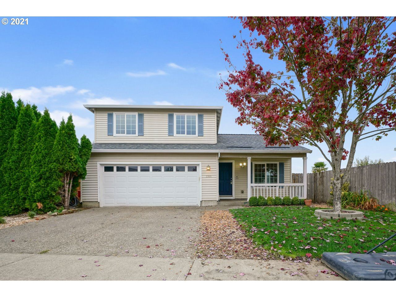 Photo of 1066 DEPOT CT, Gervais, OR 97026 (MLS # 21690058)