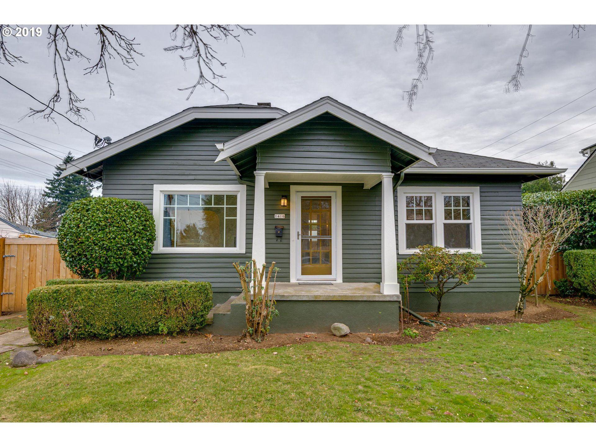 1416 NE 52ND AVE, Portland, OR 97213 - MLS#: 19616073