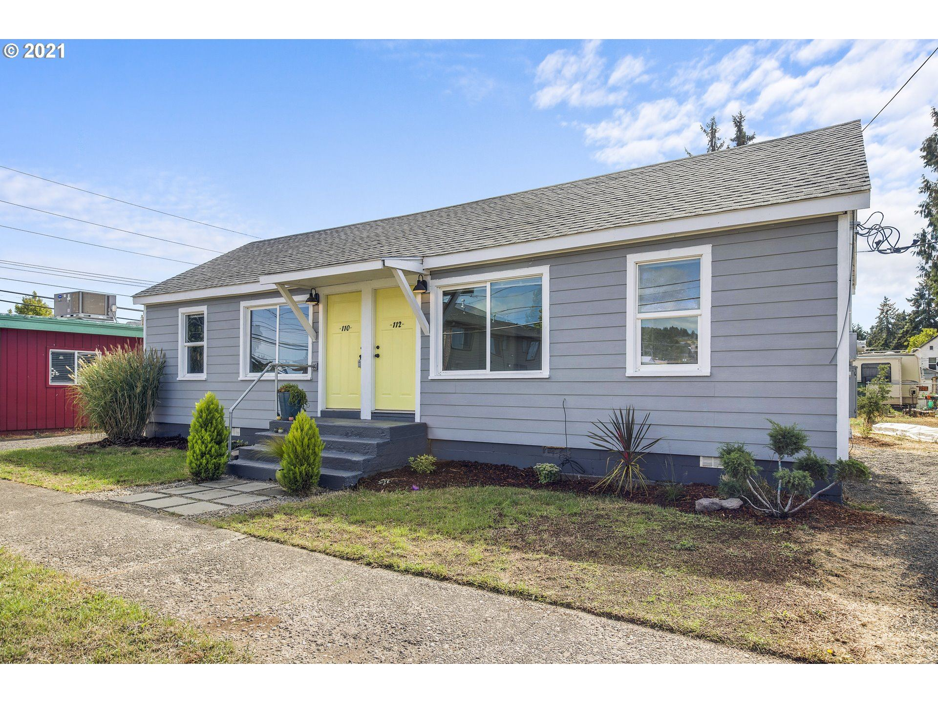 Photo of 112 SW HARRISON ST, Sheridan, OR 97378 (MLS # 21428124)