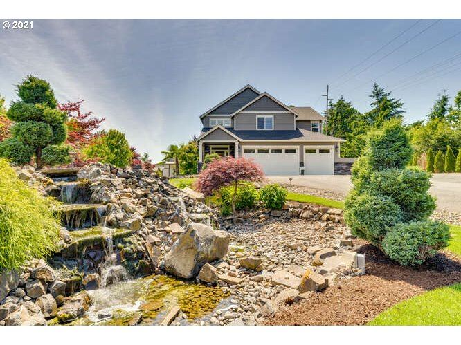 Photo of 8720 SE MORGAN LN, McMinnville, OR 97128 (MLS # 21219148)