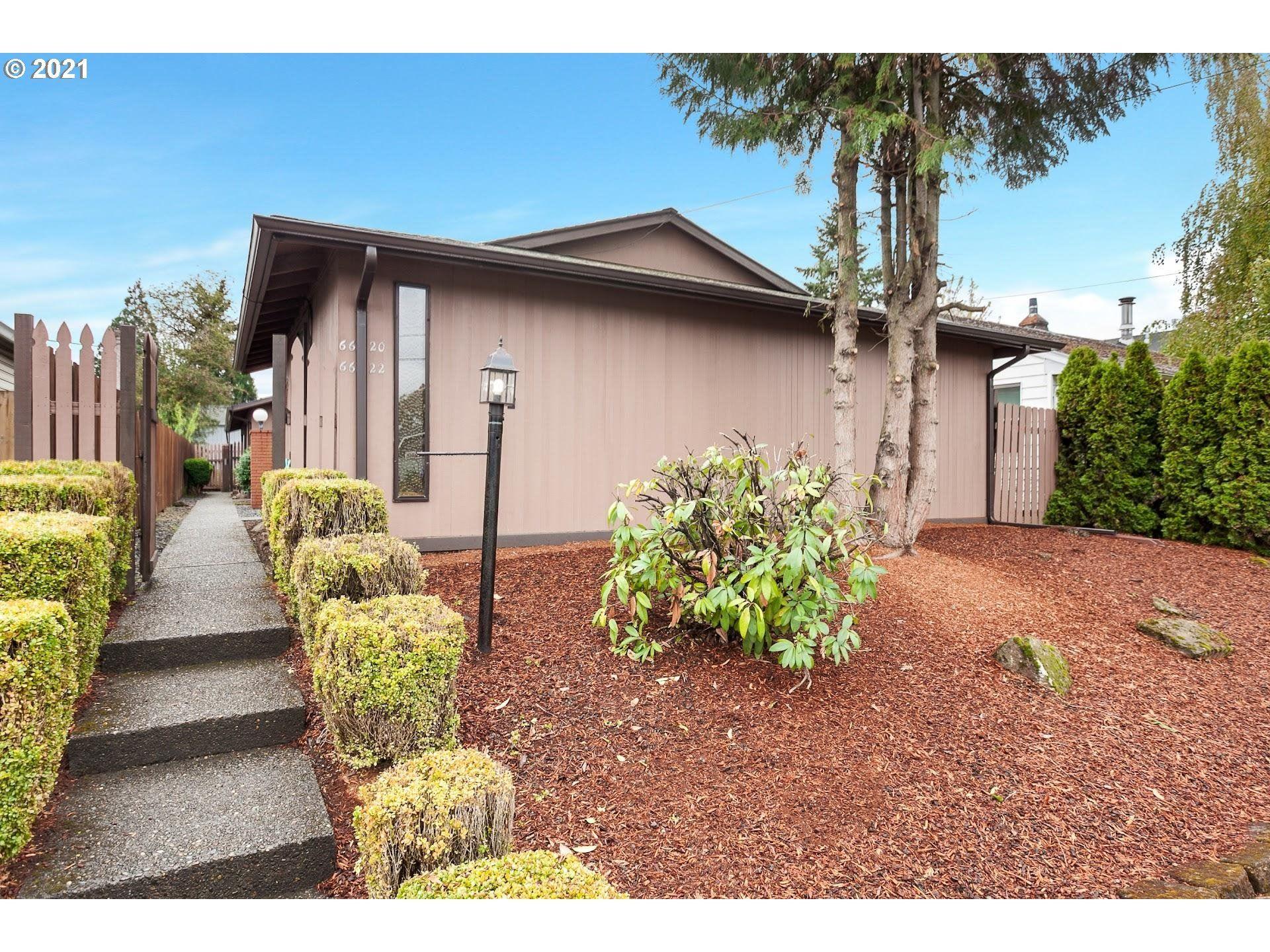 6620 SE WOODSTOCK BLVD, Portland, OR 97206 - MLS#: 21333158