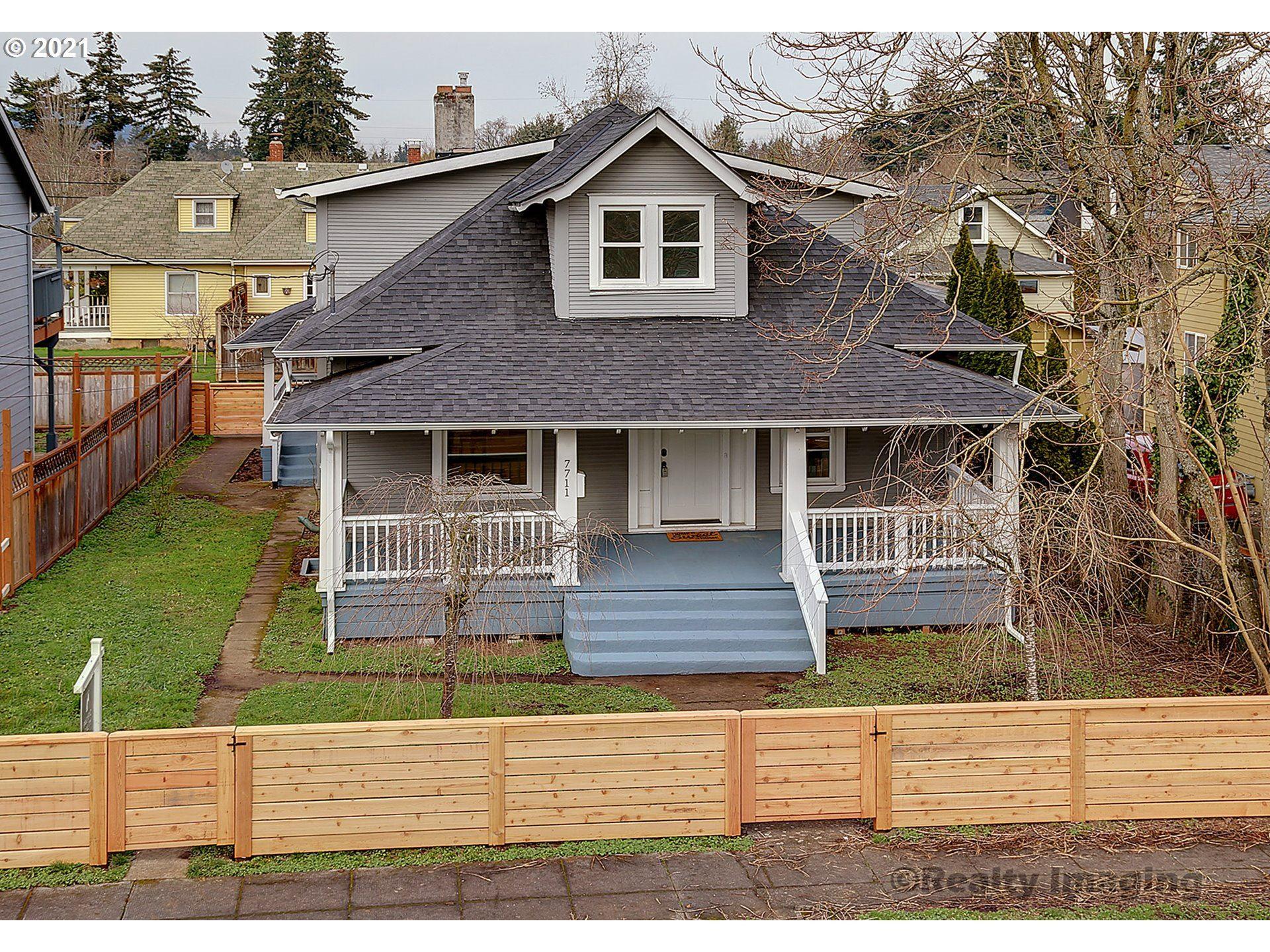 Photo for 7711 SE WOODSTOCK BLVD, Portland, OR 97206 (MLS # 21096219)