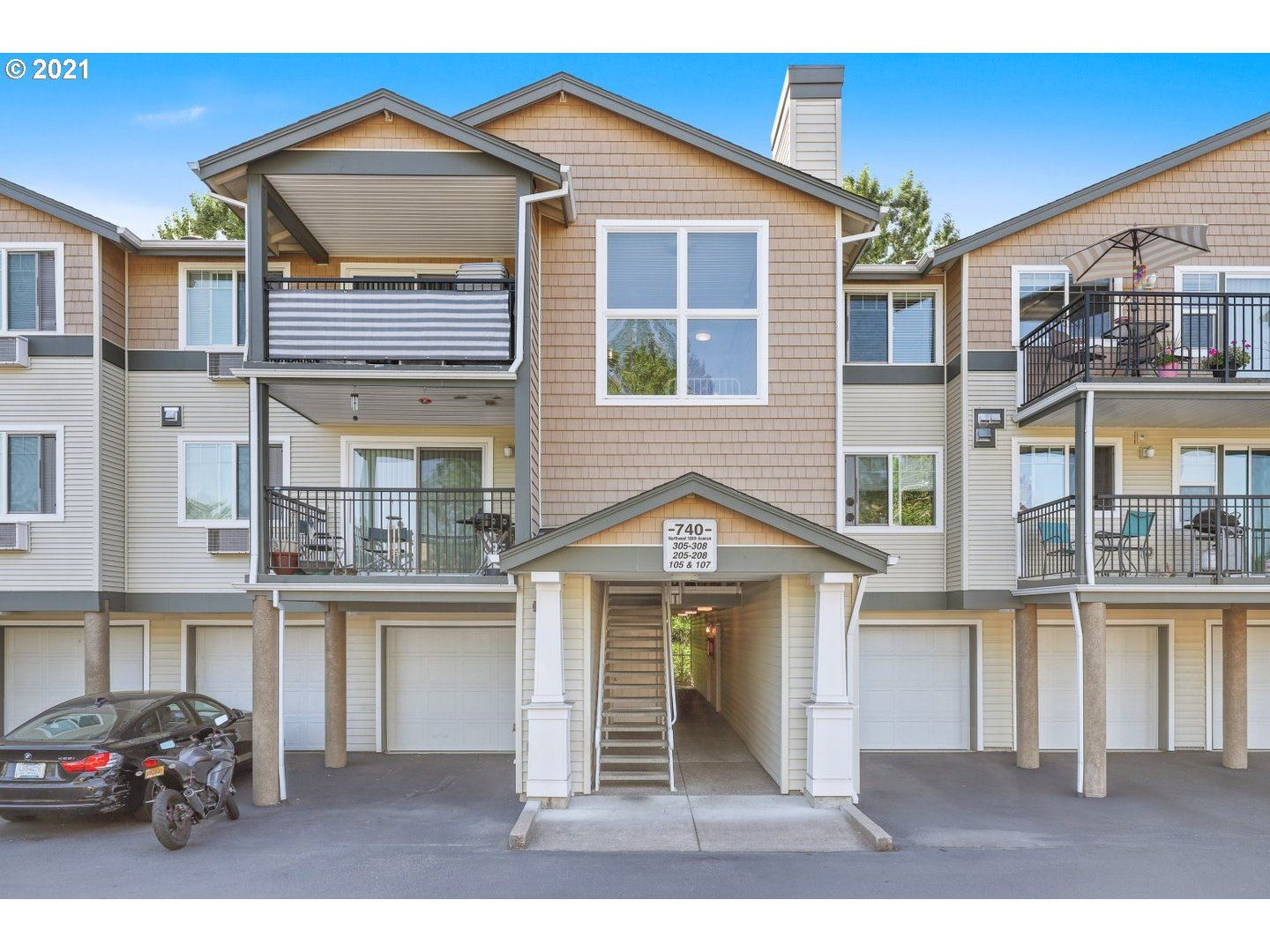 740 NW 185TH AVE #207, Beaverton, OR 97006 - MLS#: 21059229