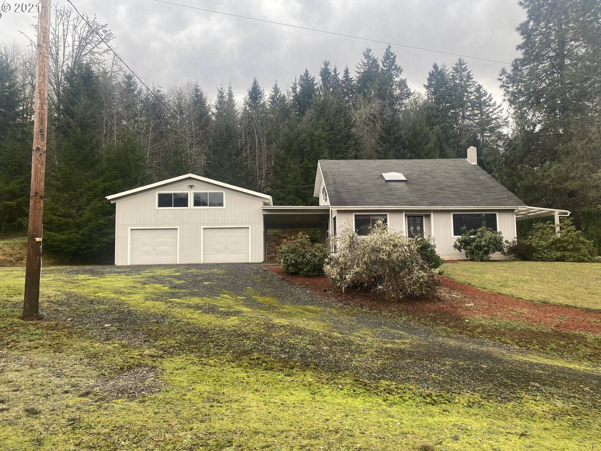Photo for 39250 OLD GIUSTINA MILL RD, Dexter, OR 97431 (MLS # 21278538)