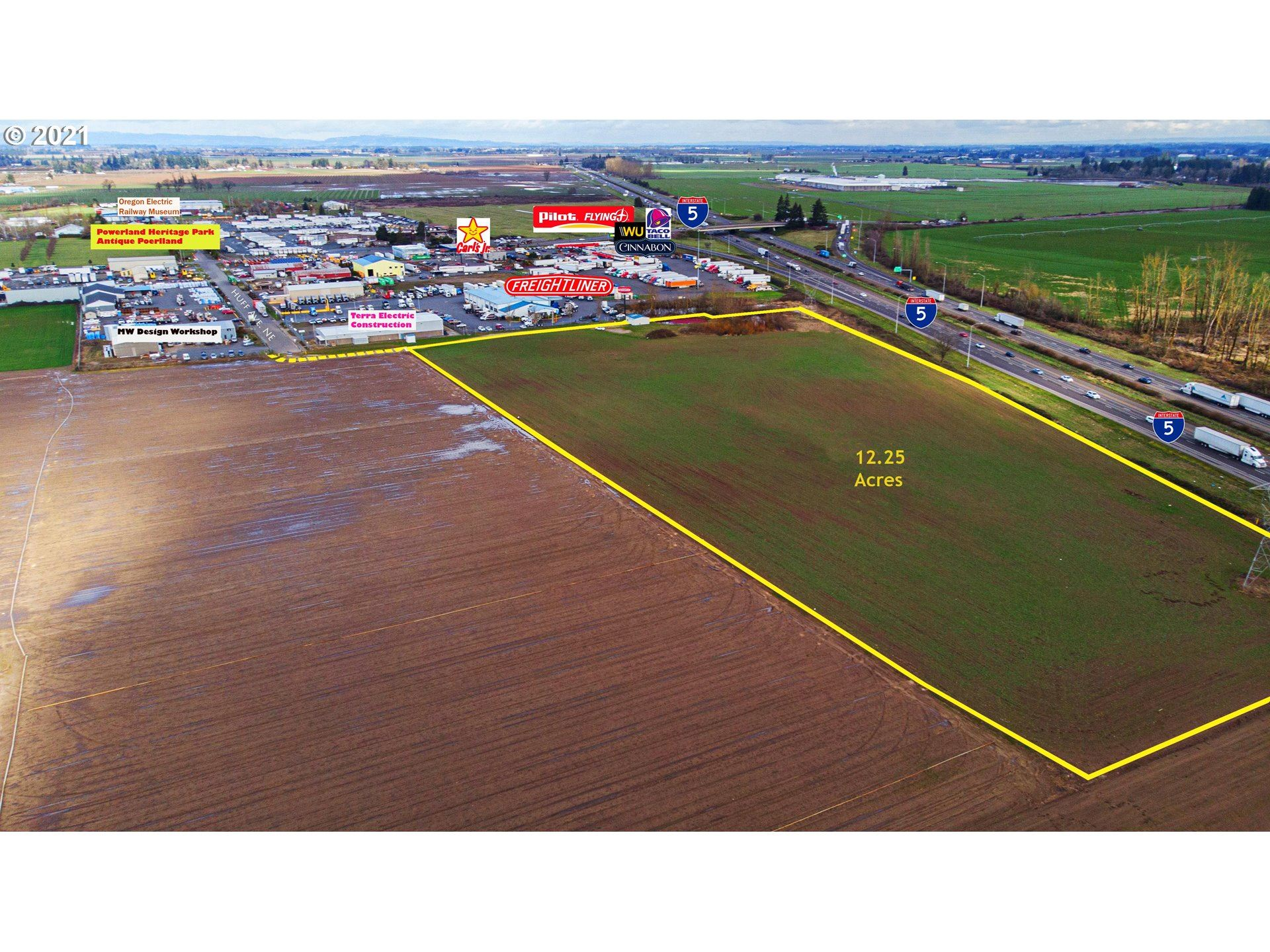 Photo of 0 Huff AVE NE, Brooks, OR 97305 (MLS # 21472565)