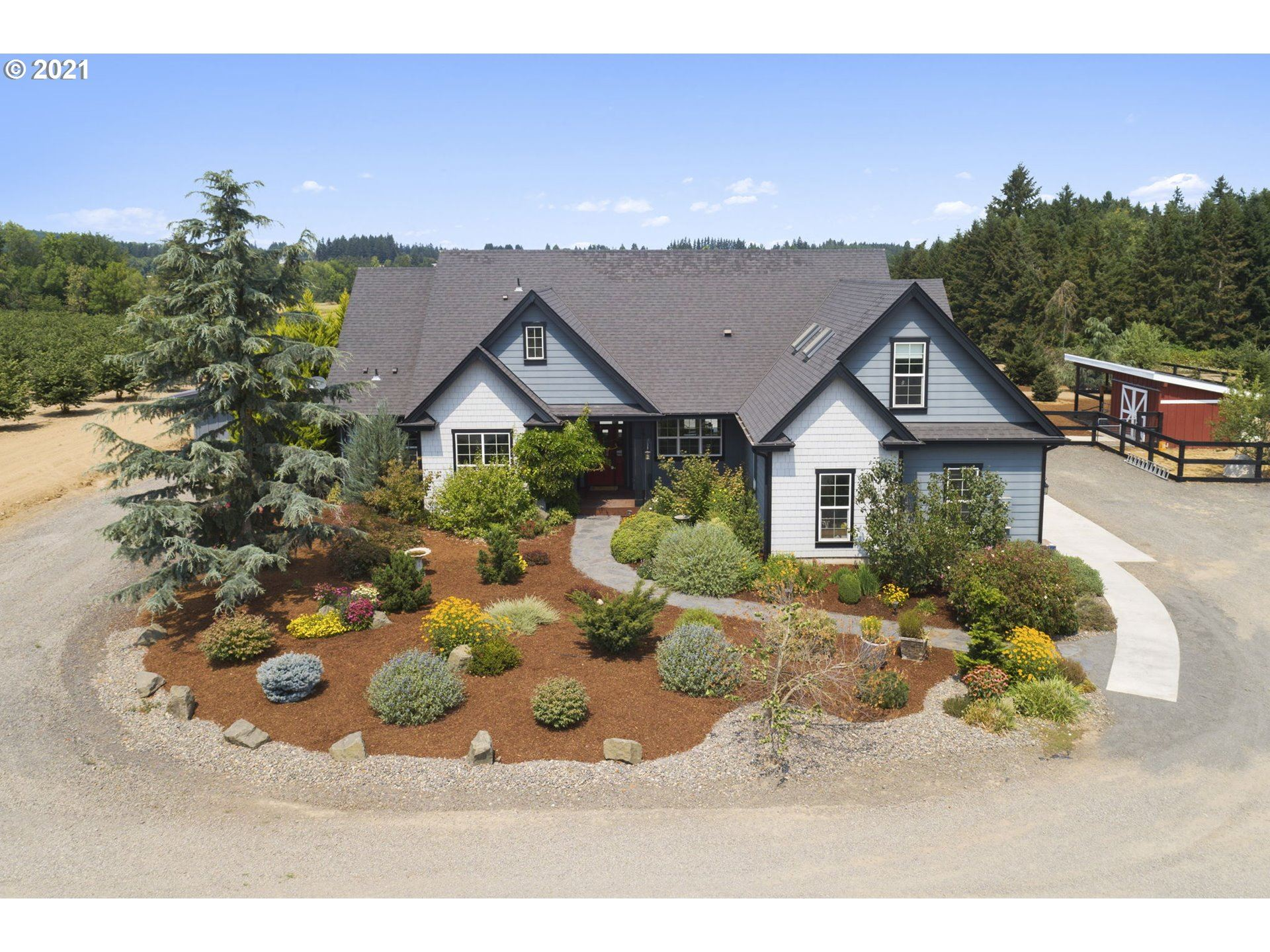Photo of 31549 SW FIRDALE RD, Cornelius, OR 97113 (MLS # 21119589)