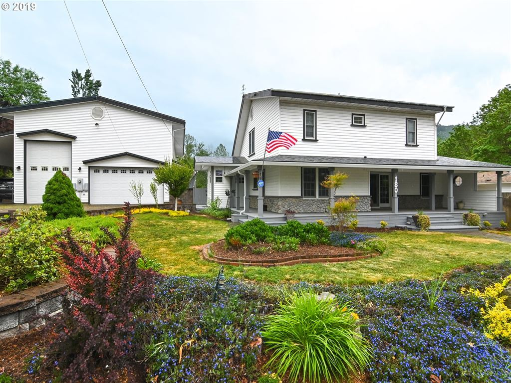 Photo for 180 S PIONEER ST, Lowell, OR 97452 (MLS # 19678649)