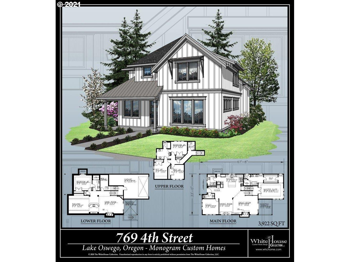 Photo for 769 4TH ST, Lake Oswego, OR 97034 (MLS # 21544710)