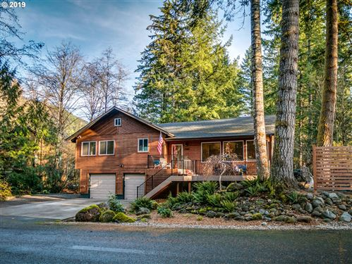 Photo of 21460 E MEADOW CREST DR, Rhododendron, OR 97049 (MLS # 19091815)