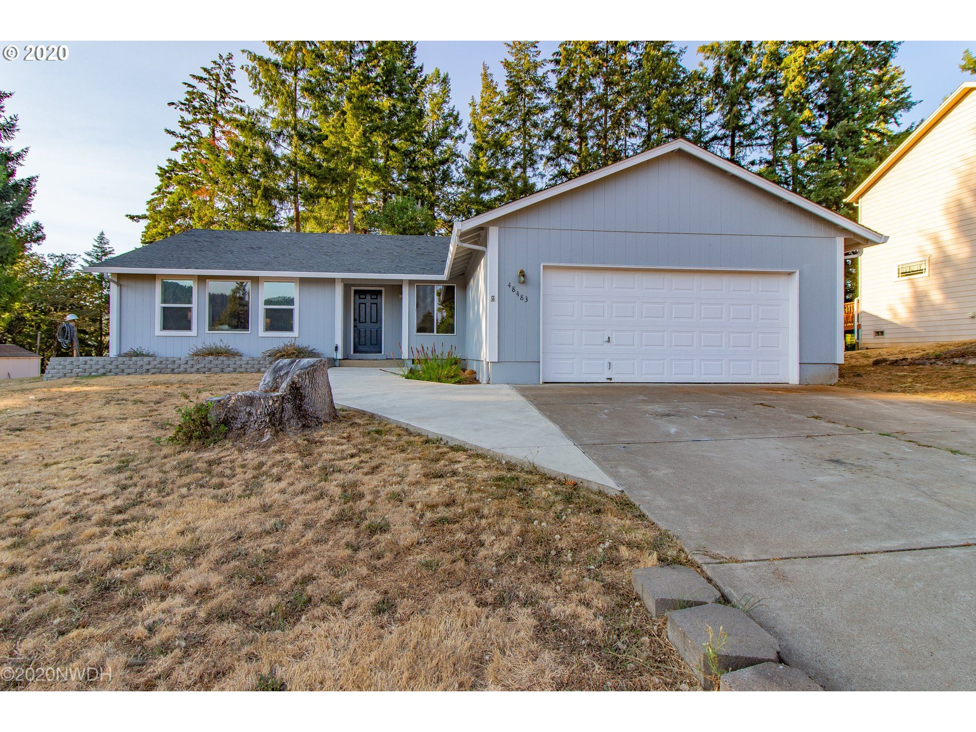 Photo for 48483 HILAND RANCH DR, Oakridge, OR 97463 (MLS # 20518841)