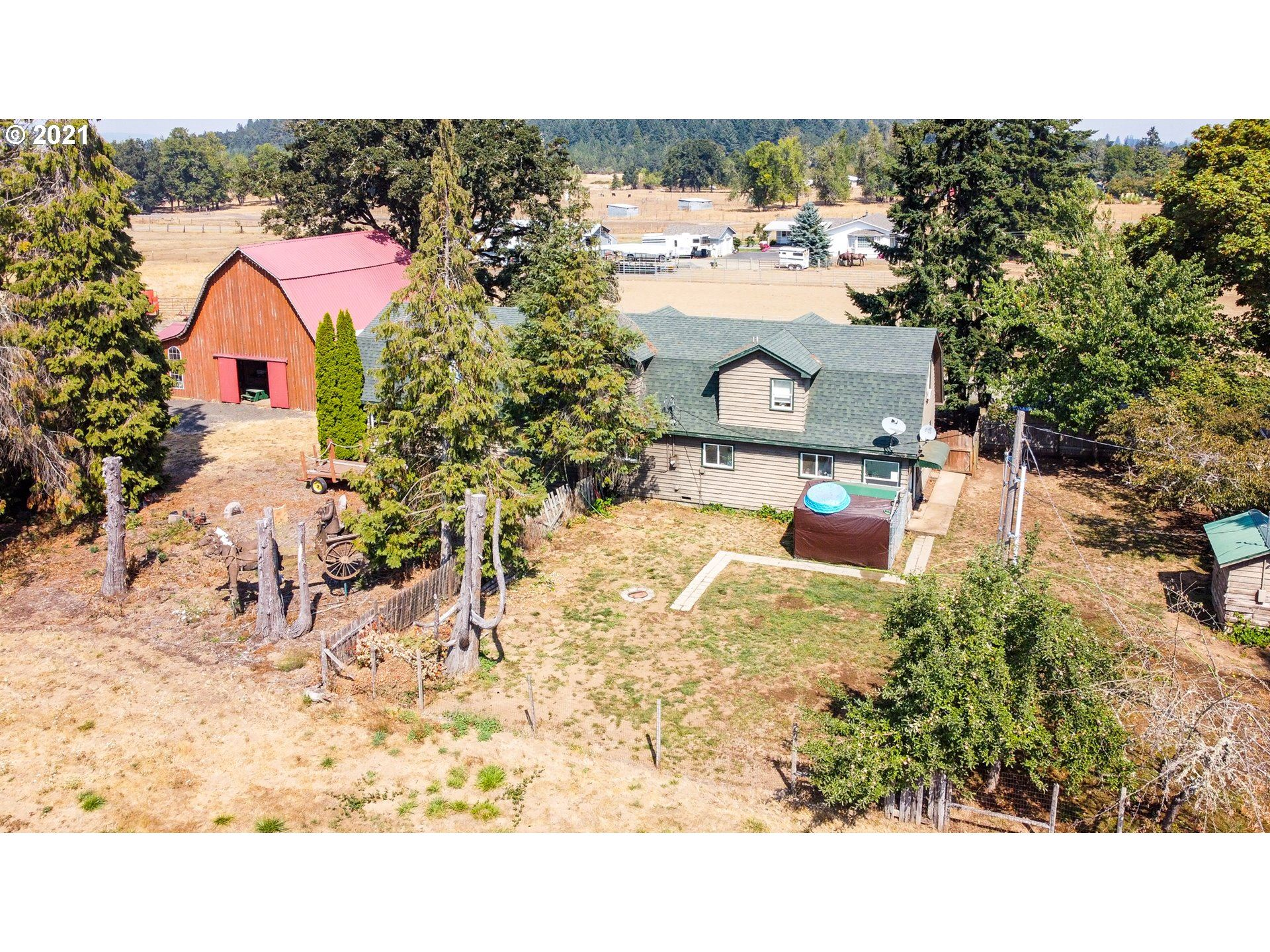 Photo for 82232 HWY 99, Creswell, OR 97426 (MLS # 21563858)