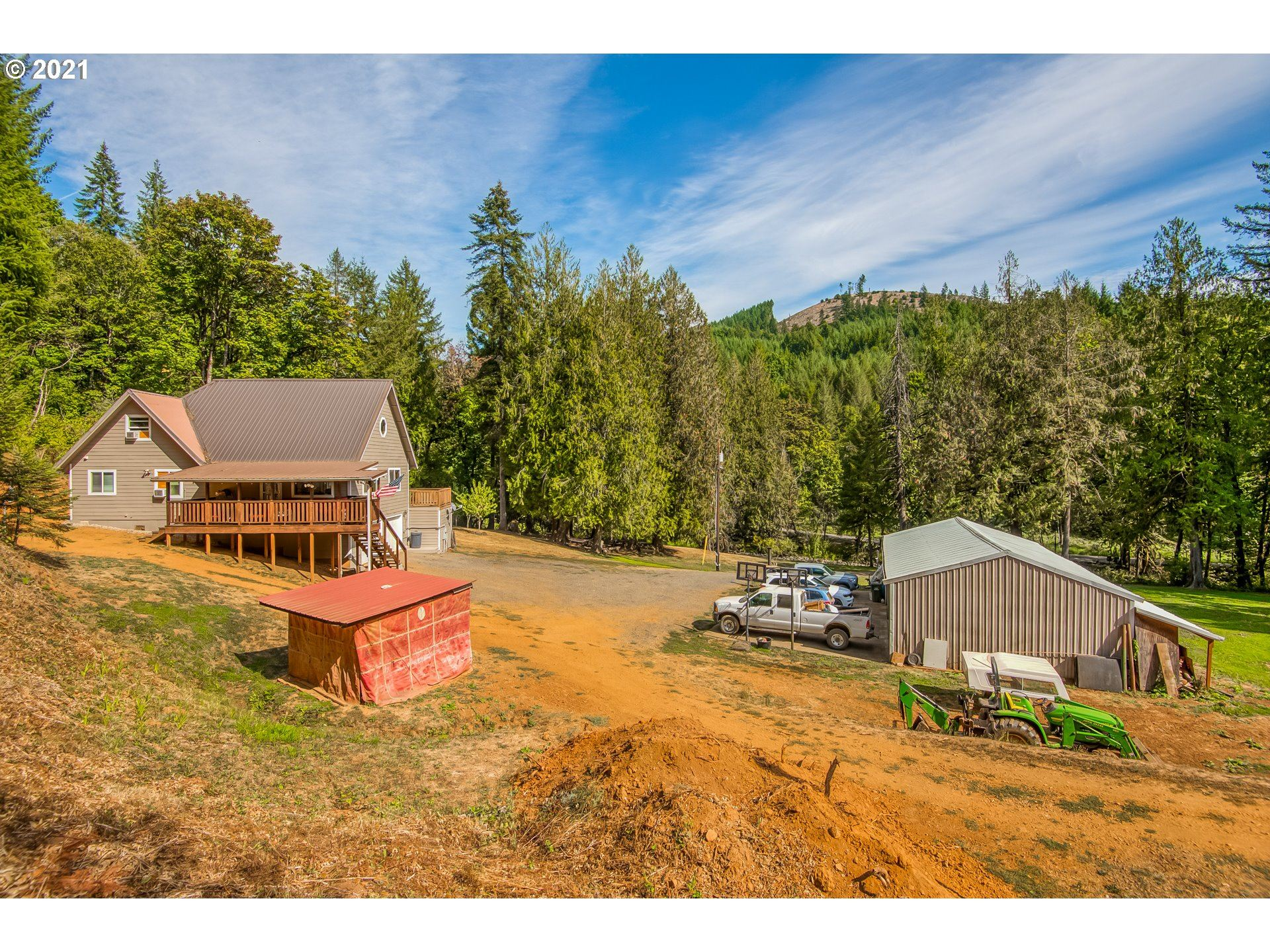 Photo of 6430 SW GOPHER VALLEY RD, Sheridan, OR 97378 (MLS # 21145906)