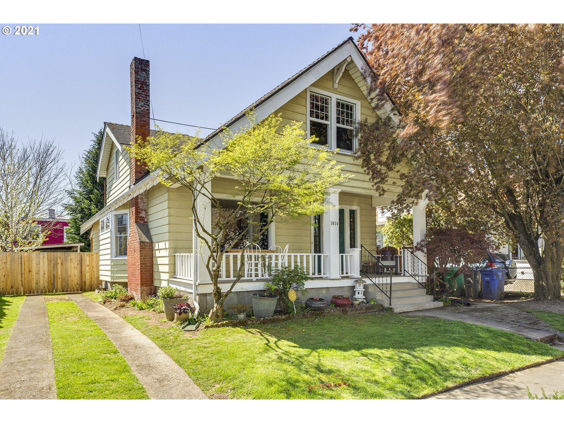 3616 SE CARUTHERS ST, Portland, OR 97214 - MLS#: 21185908