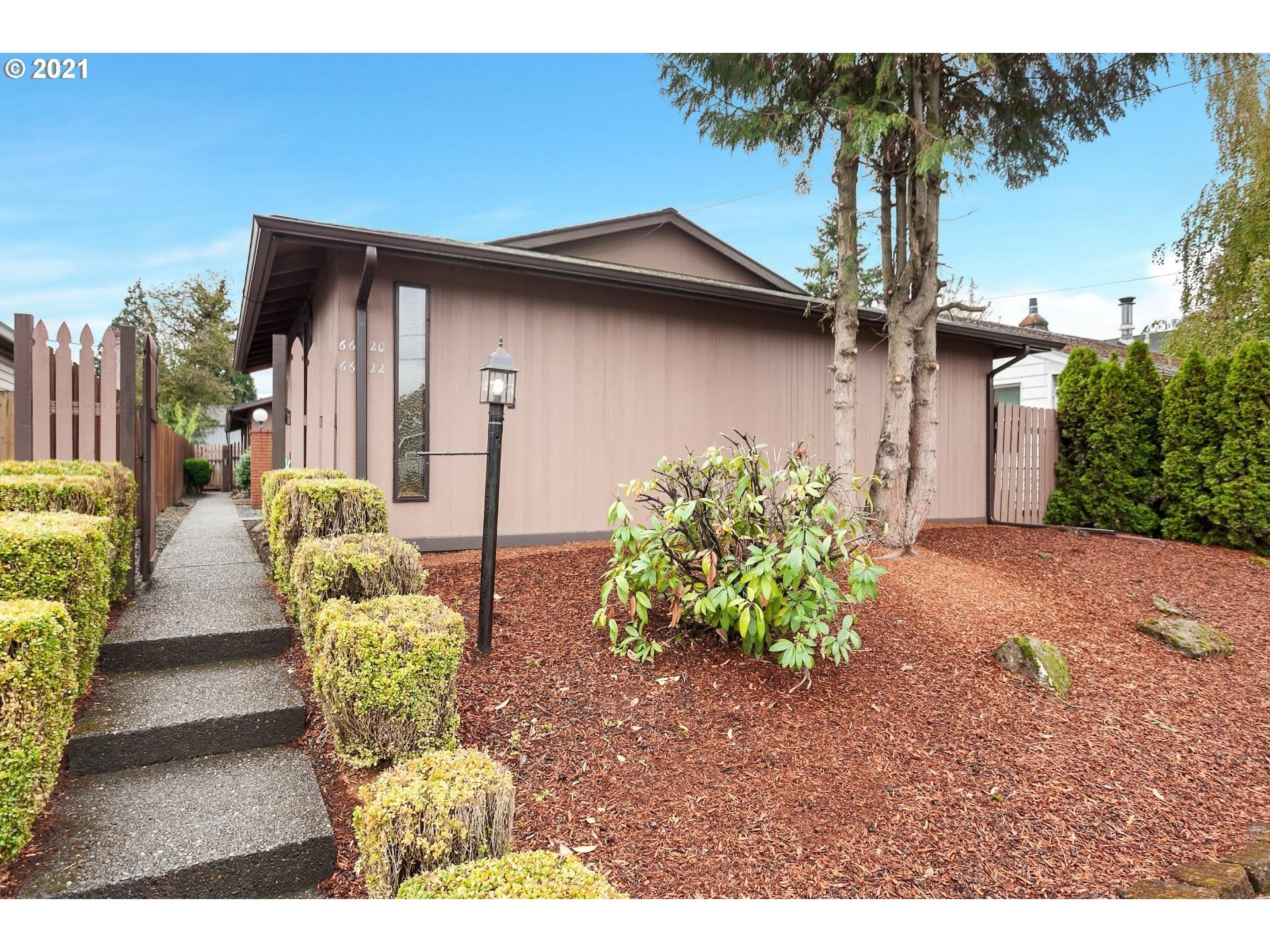 6620 SE WOODSTOCK BLVD, Portland, OR 97206 - MLS#: 21518982