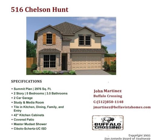 Photo of 516 Chelson Hunt, Cibolo, TX 78108 (MLS # 1548611)
