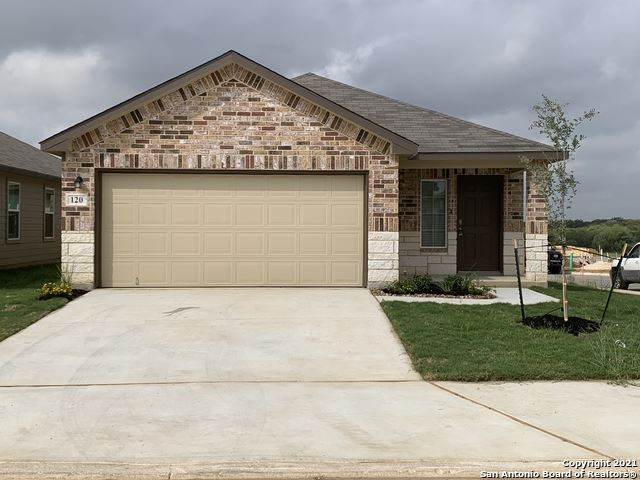 Photo of 120 Middle Green Loop, Floresville, TX 78114 (MLS # 1565882)