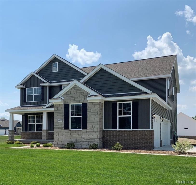 2333 TORREY PINE COURT (HOMESITE 64), Howell, MI 48843- - #: 40086007