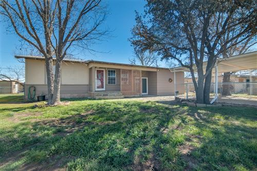 Photo of 1022 Fisher St, San Angelo, TX 76901 (MLS # 103732)