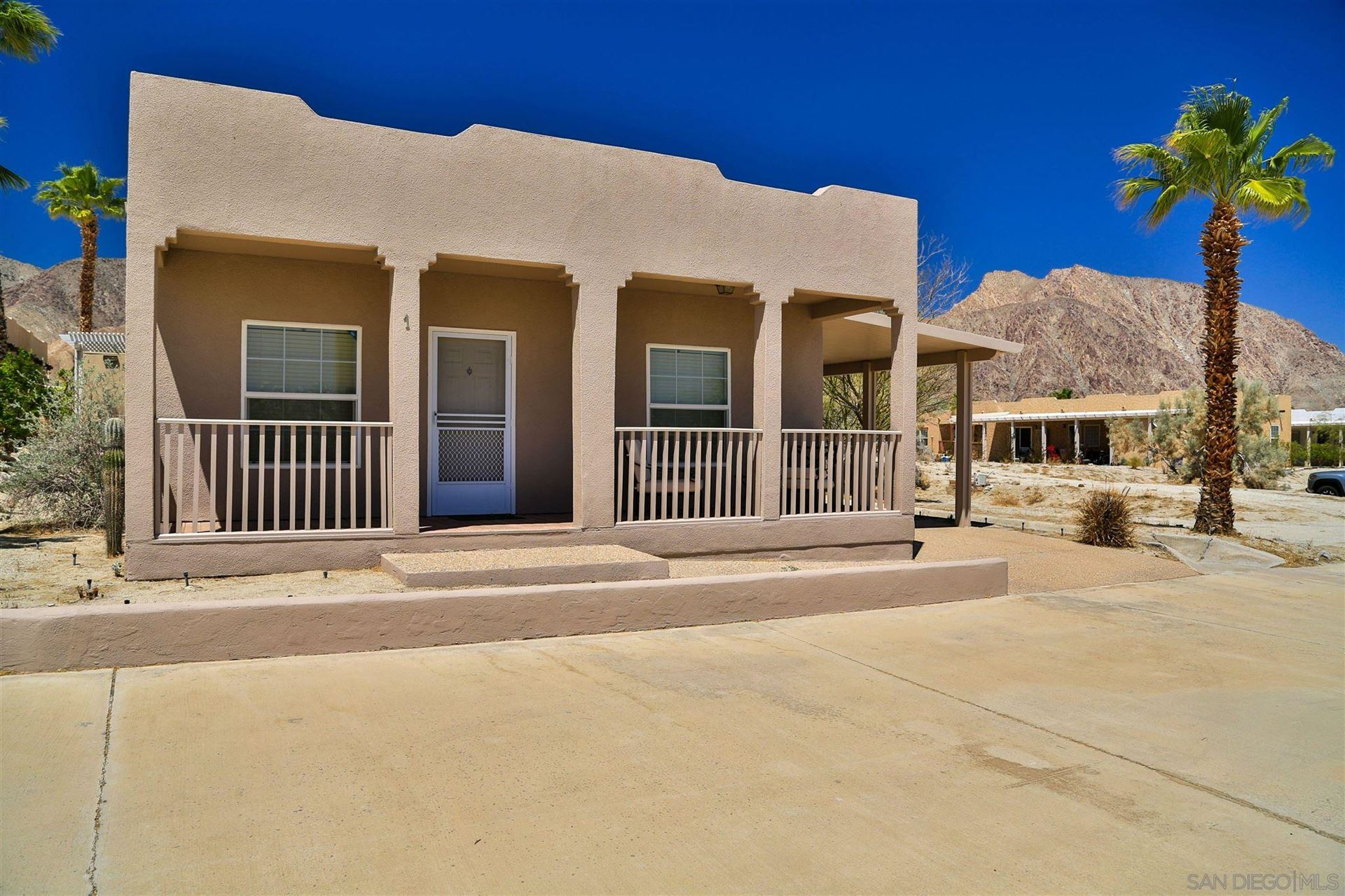 Photo of 330 Palm Canyon Dr #1, Borrego Springs, CA 92004 (MLS # 210012030)