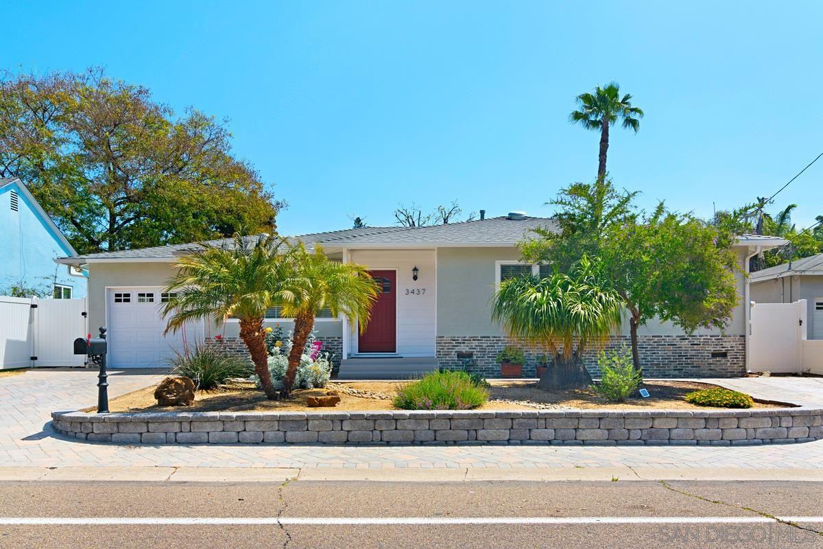 Photo for 3437 FAIRWAY DR, La Mesa, CA 91941 (MLS # 210010071)