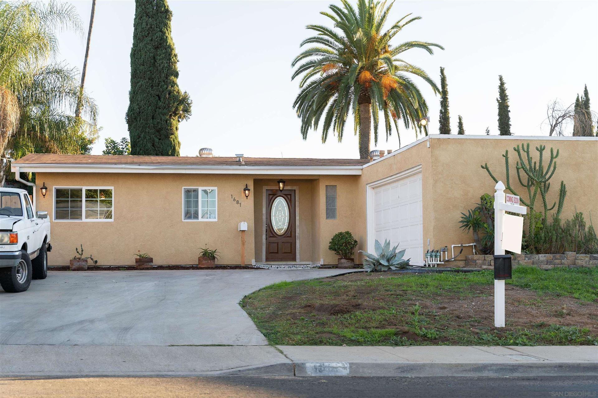 Photo of 1681 Raynell Way, El Cajon, CA 92019 (MLS # 210026089)