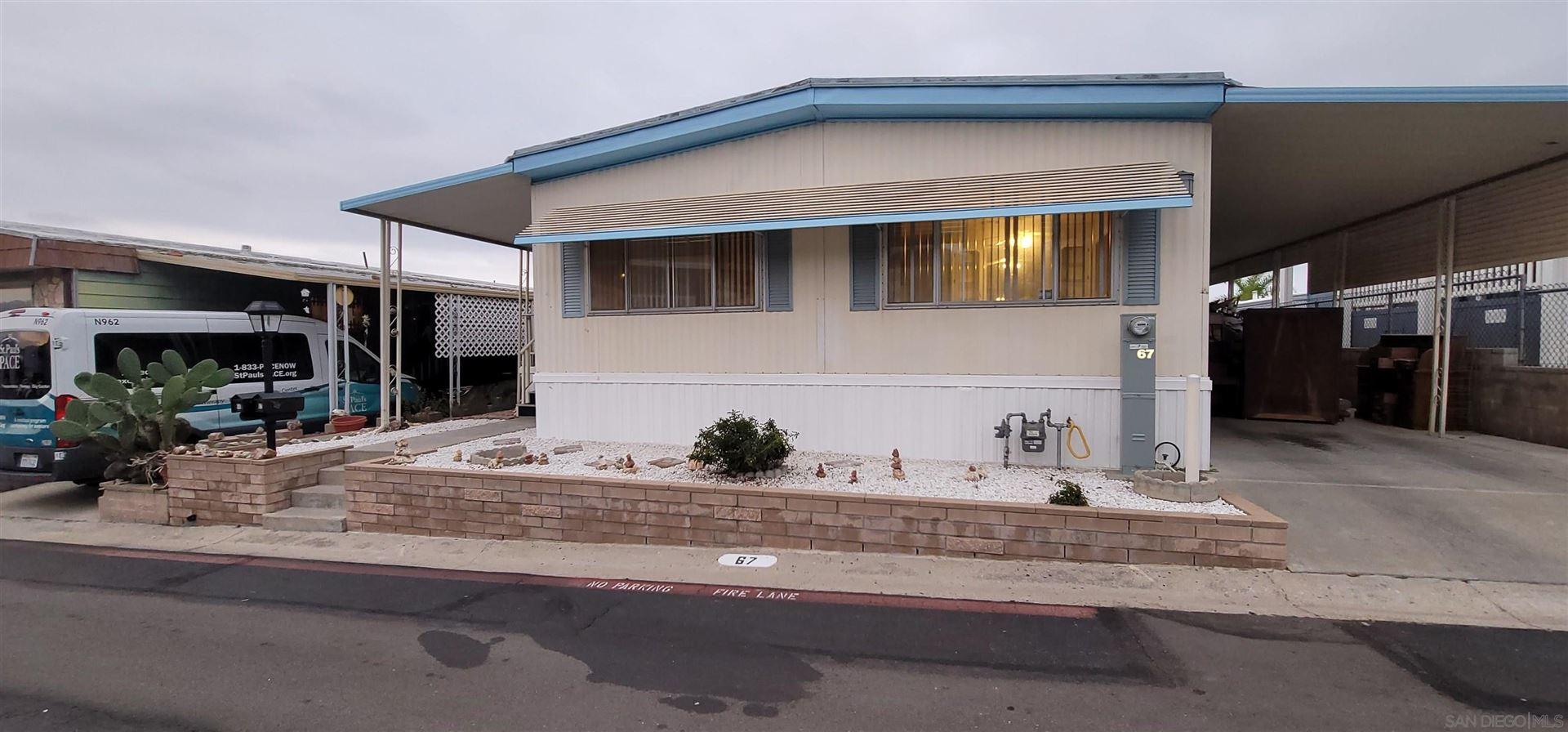 Photo of 8701 Mesa #67, Santee, CA 92071 (MLS # 210029098)
