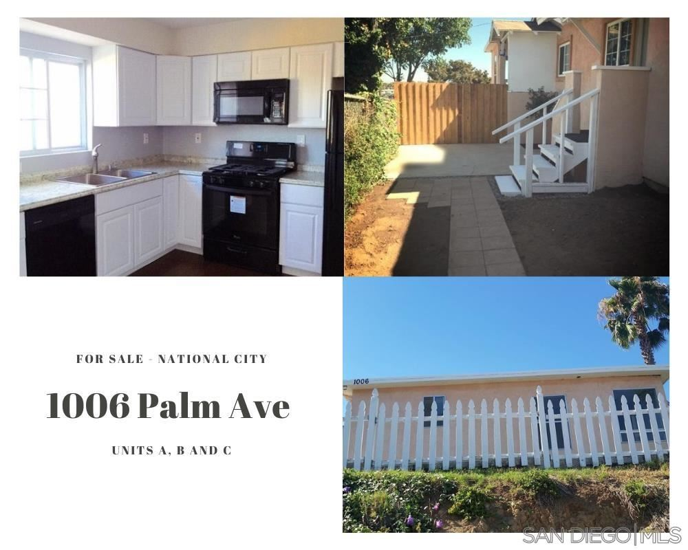 Photo of 1006 Palm Ave, National City, CA 91950 (MLS # 210021100)