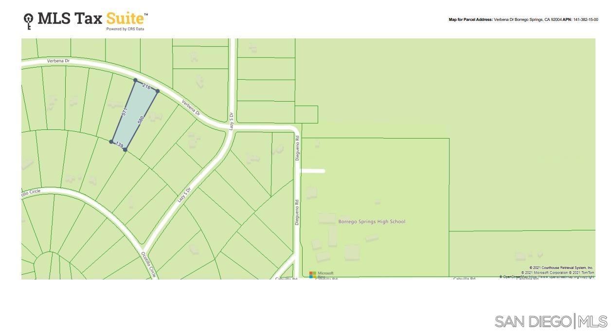 Photo of 0000 Verbena Drive, Borrego Springs, CA 92004 (MLS # 210029107)
