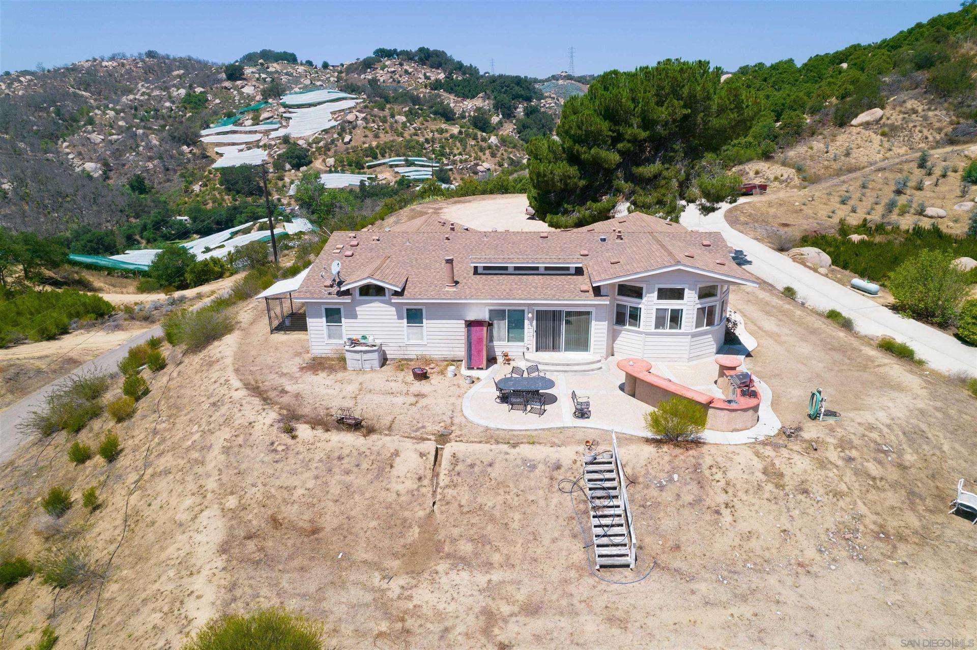 Photo of 3446 De Luz Heights Road, Fallbrook, CA 92028 (MLS # 210026130)