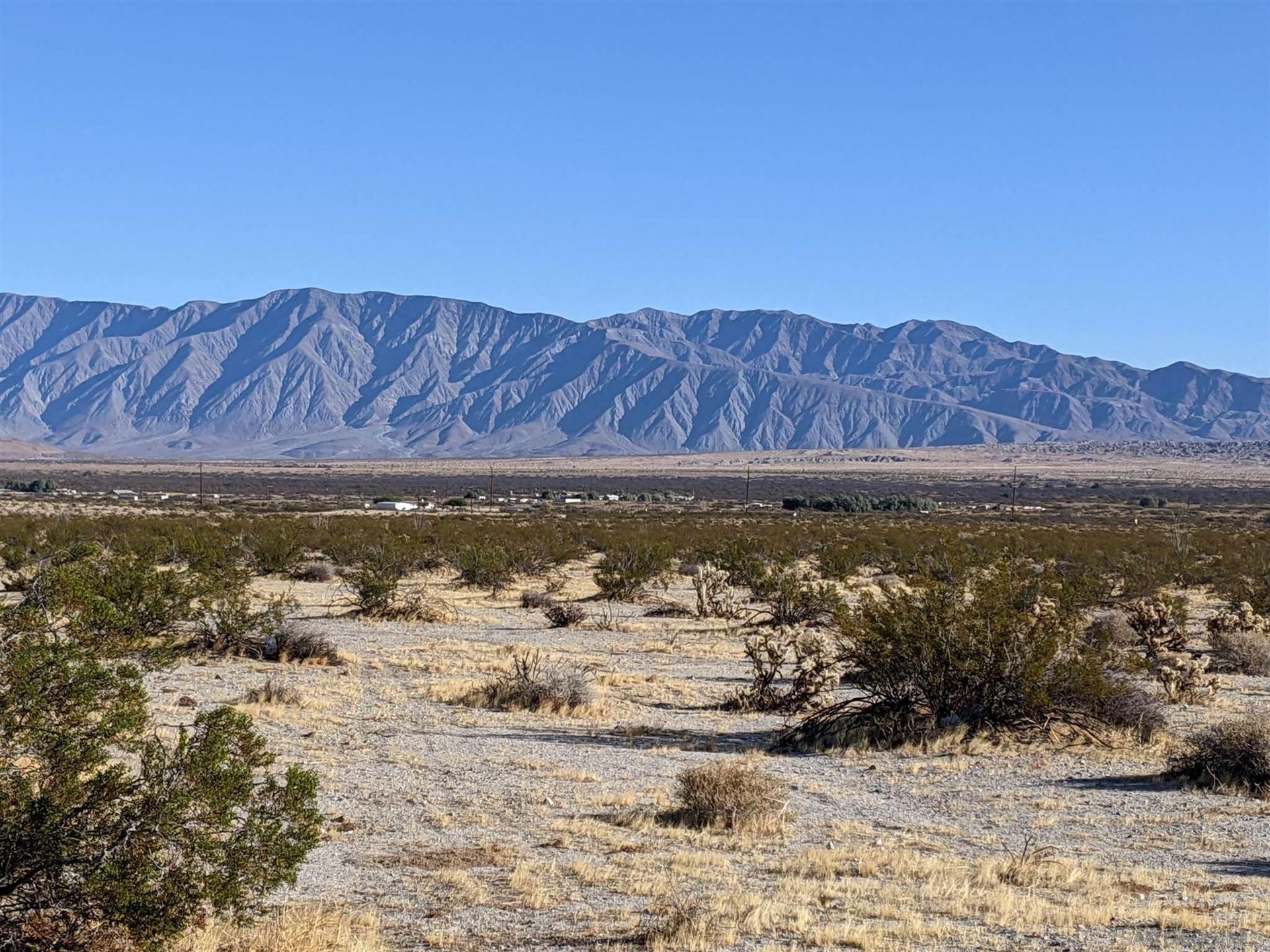 Photo of Borrego Springs Rd, Borrego Springs, CA 92004 (MLS # 200052145)