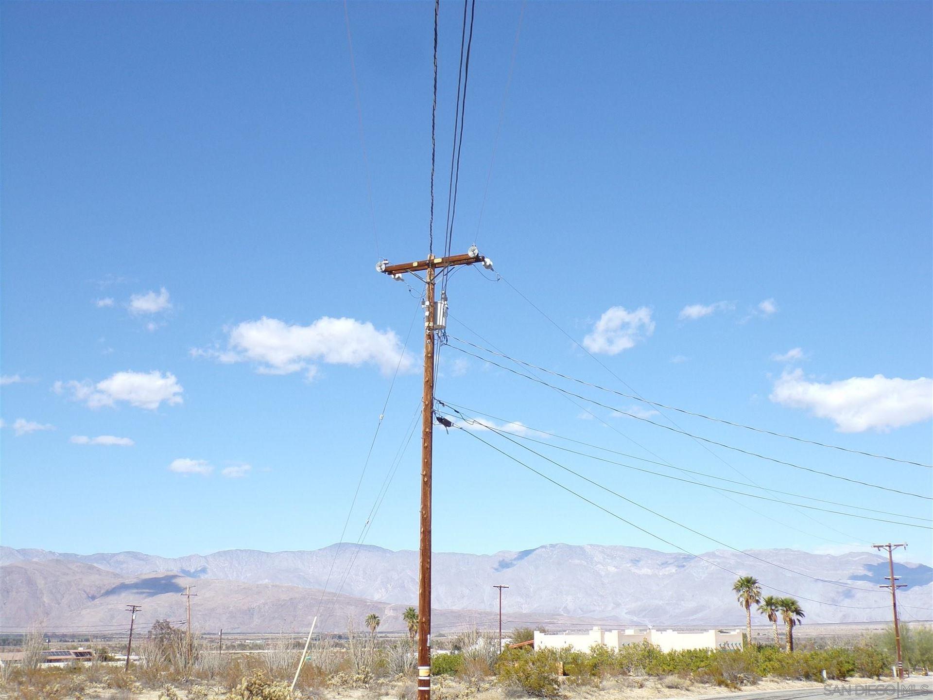 Photo of 0 Santa Saba Road, Borrego Springs, CA 92004 (MLS # 210008179)