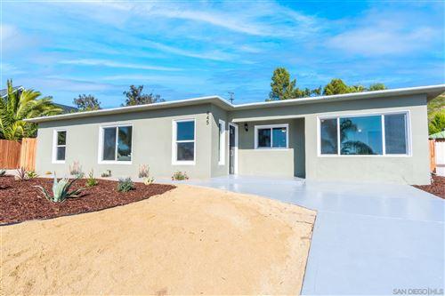 Photo of 445 Silvery Ln, El Cajon, CA 92020 (MLS # 210005185)